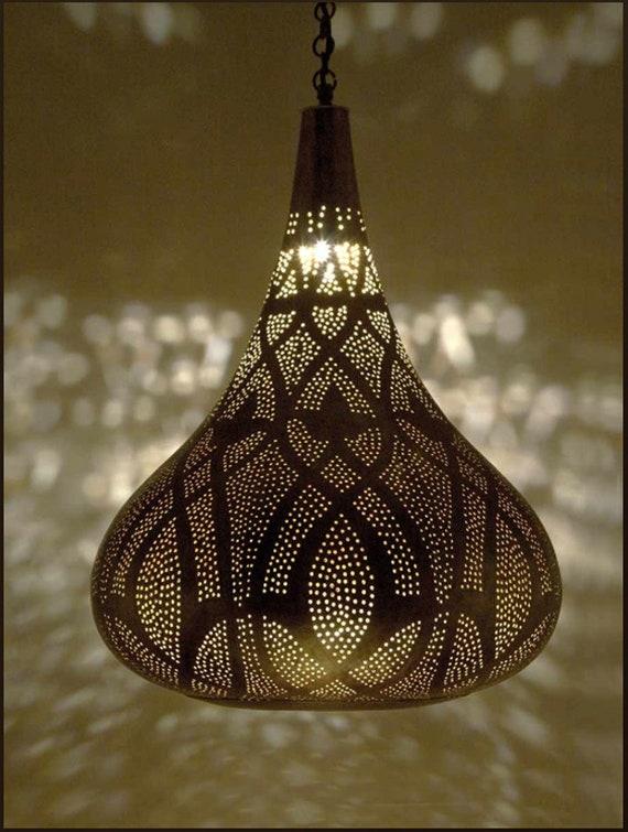 Moroccan lighting pendant Moroccan Lantern Image Pinterest Moroccan Lamp Brass Pendant Lighting Moroccan Luxury Etsy
