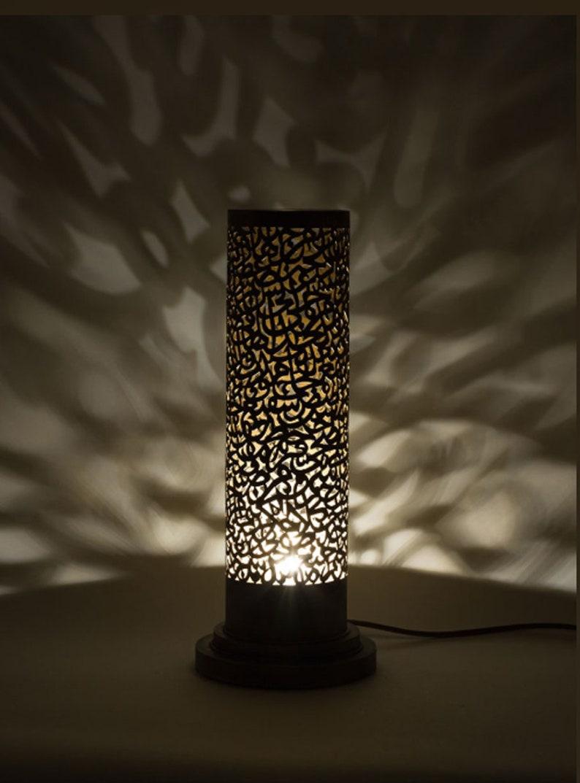 Marokkanische Lampe Stehend Kupferlampe Leichten Etsy