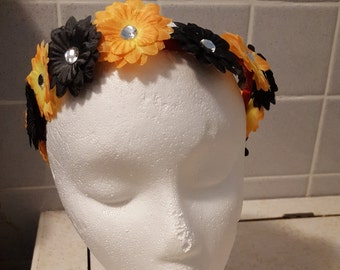 Two Color Flower Crown