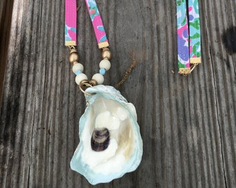 Southern Fun Oyster Necklace