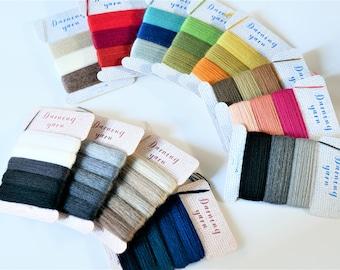 31 colors ,Darning thread, clover, japan, darning yarn , darnig thread,