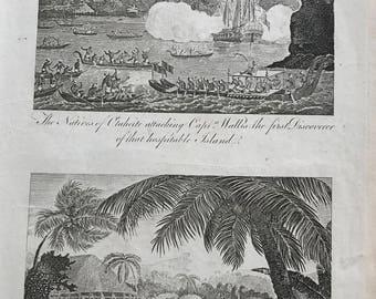 Capt Wallis and Oberea 1700's