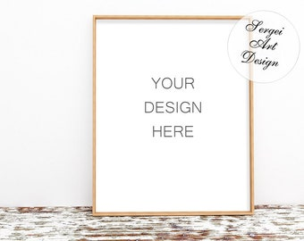 Download Free 16x20 Wooden Frame Mockup PSD + Smart Object, 8x10 Mockup Frame Wood,Thin Frame Mockup,Ikea Frame Mockup,Big Frame Mockup,Large Frame Mockup PSD Template
