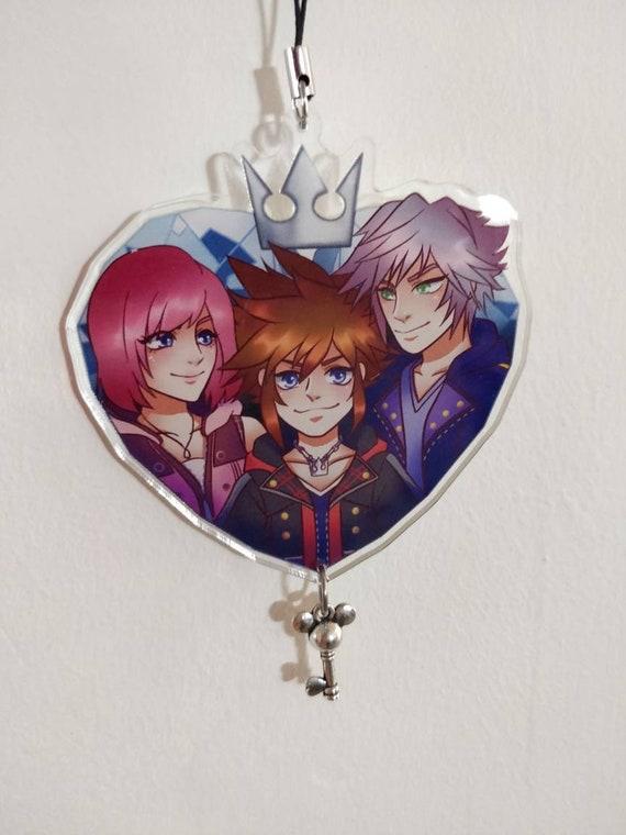 Kingdom Hearts Keychain Keyblade Keyring Sora #2 BRAND NEW 24HR UK POST
