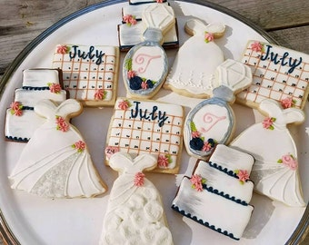 bridal shower cookies bridal shower favors wedding favors bridal shower decorations bridal shower gift wedding decor bridal shower ideas