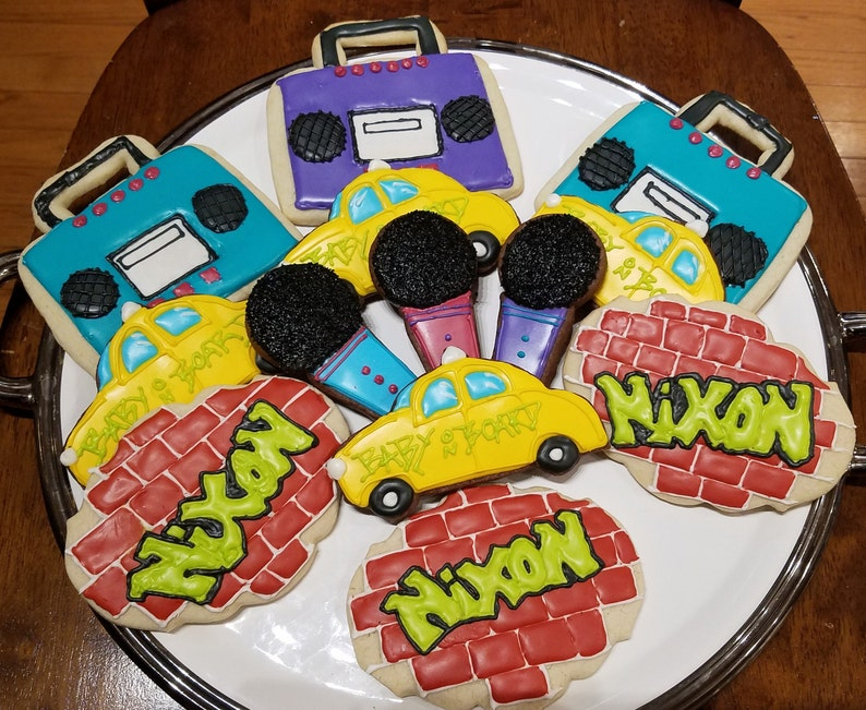 90s Cookies Party Birthday Hip Hop Theme
