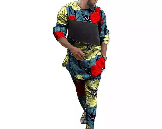 African men outfits. Africa men shirts,