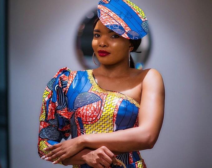 African fascinator hat