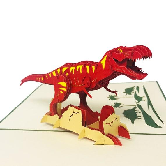 Lovepop Jurassic World T-Rex Pop-Up Card