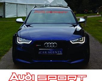 2x Audi Sport Germany Team Goh Fender Emblem Car for Audi C5 C6 A3 A4 A5 A6 Q3
