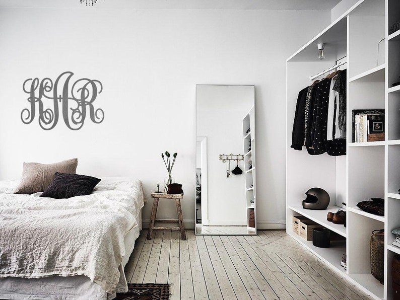 SALE Home decor WEDDING DECOR Monogram Decoration Monogram Wall Hanging  Personalized Wooden Monogram  Rustic Wedding  Door Hanger