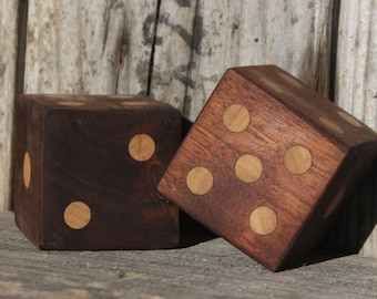 Wooden six sided Dice