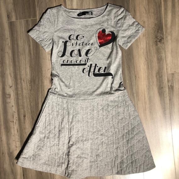 Designer Moschino Love Dress