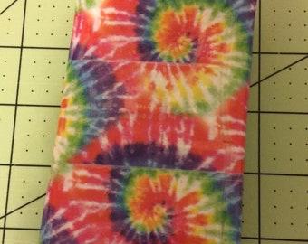 Tie-Dye Tri-fold Wallet
