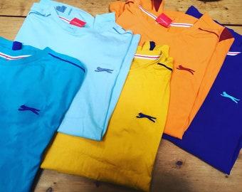 796b6ece23 Vintage retro 90s Slazenger tshirts size L/XL mens unisex loose fit