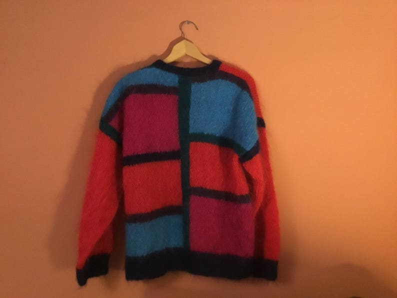 Vintage Multicoloured Cardigan Circa 1980