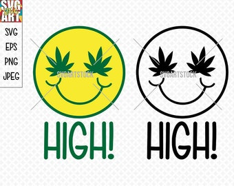 svg, dxf, png Stoned Weed Vector ready to print cannabis 420 svg instant download digital clipart t-shirt design