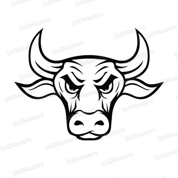Bull Head Vector ClipArt   FreeVectors