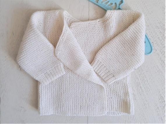 Veste / Cardigan / Brassière / Gilet en laine bébé