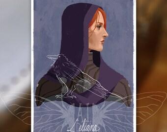 Leliana - Dragon Age Inquisition Print