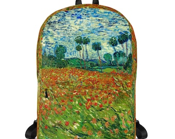 Backpack ~ Poppy Field (Field With Poppies) ~ VAN GOGH