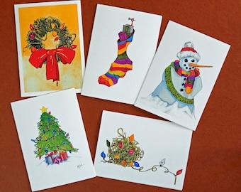 Immagini Natale Umoristiche.Fatto A Mano Originale Umoristiche Divertenti Cartoline Di Etsy