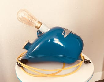 Vintage moped tank lamp (from the brand Mobylette)