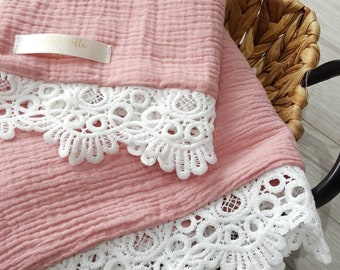 """Soft pink or lilac comforters 12"""" by 12"""""""