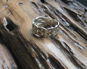 Hand made Celtic knot ring
