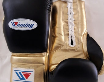new customized winning boxing gloves available in all oz 8/oz 10/oz 12/oz 14/oz 16/oz