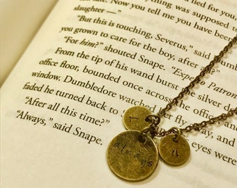 "Harry Potter ""always"" mother's necklace"