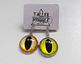 Dragon Eyes Earrings