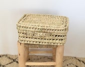 Moroccan handmade Rattan suitcase