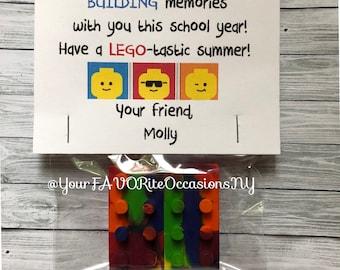 LEGO bricks crayon shapes