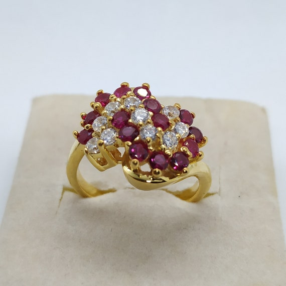 DAILY WEAR GIFT 14K YELLOW GOLD OVER ROUND D//VVS1 FLOWER ADJUSTABLE TOE RING
