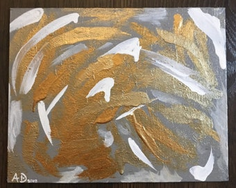 Abstract Home Decor Spiral Painting