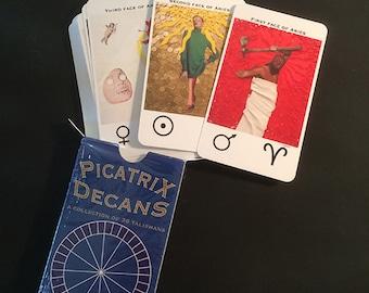 Picatrix Decans Card Deck