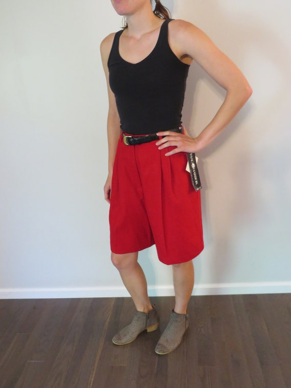 Pick Your High-Waisted Vintage Shorts/Red High-Wai