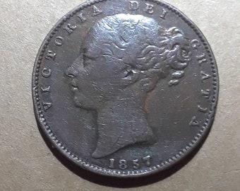1857 British Farthing
