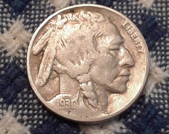 1930  Buffalo Nickel