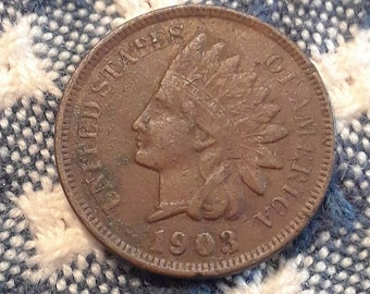 1903 Indian Head Penny (F)