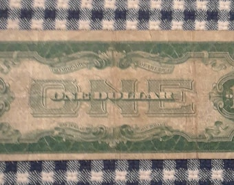 1928-A Funny Back One Dollar Silver Certificate