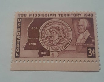 1948 Mississippi Territory  Stamp 3 cents