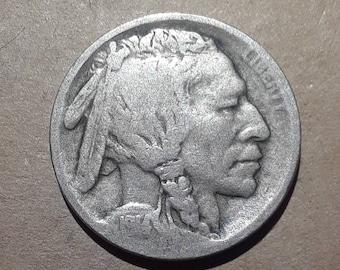 1914 S Buffalo Nickel Key Date