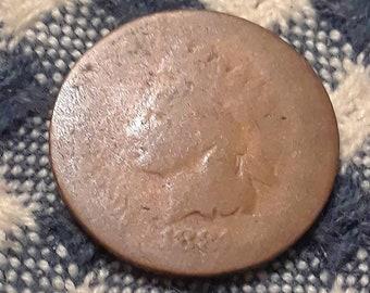 1881 Indian Head Penny (AG3)
