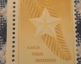 1948 Gold Star Mothers  Stamp 3 cents