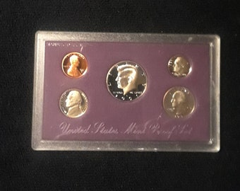 1991 S Proof Set 1c to 50c PR DCAM