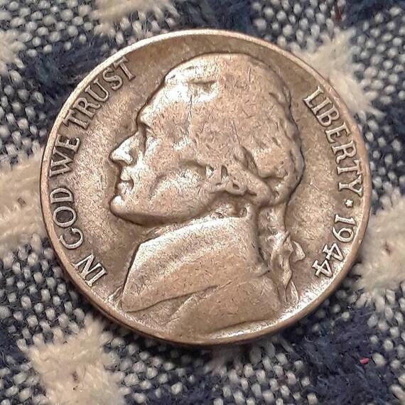 1944 P Jefferson Nickel 35% Silver