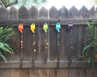 The Ceramic One - Watering Can Wind Chimes