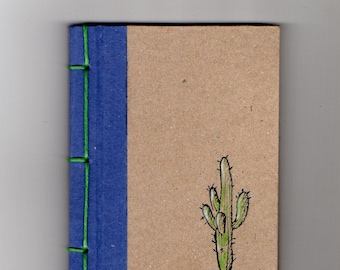 Customer Mexican notebook, Handmade, Recycled material, Gift idea